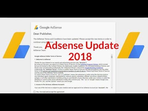 { NEW UPDATE }🔥 AdSense Users May 2018 - Latest Google AdSense Update