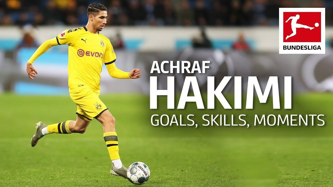 Best of Achraf Hakimi - Best Goals, Assists & Super Speed