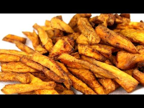 How to Make Sweet Potato Fries: Deep Fried Recipe