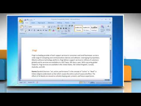 Word 2007: How to add AutoText to the Quick Access Toolbar