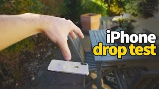 iPhone XS vs iPhone X Drop Test - Will it Shatter? 🤔