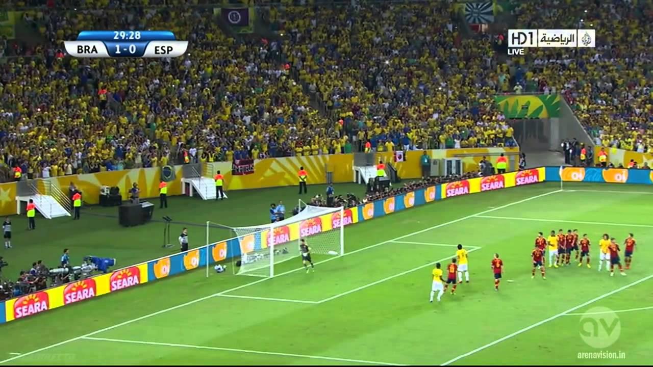 FIFA Confederations Cup 2013 | Final | Brazil vs Spain | 1st Half
