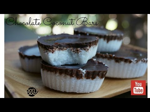 What to do with the leftover coconut from the coconut milk?? Chocolate Coconut Bars!!