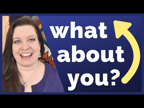 Turn the Question Around By Asking What About You? | Repeat Questions Back with Stress & Intonation