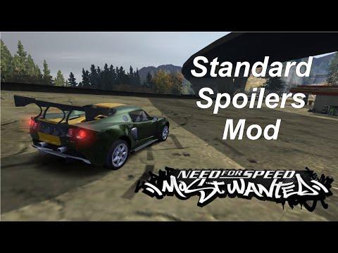Spoiler Pack Part 1 [NFSMW Overhaul Mod]