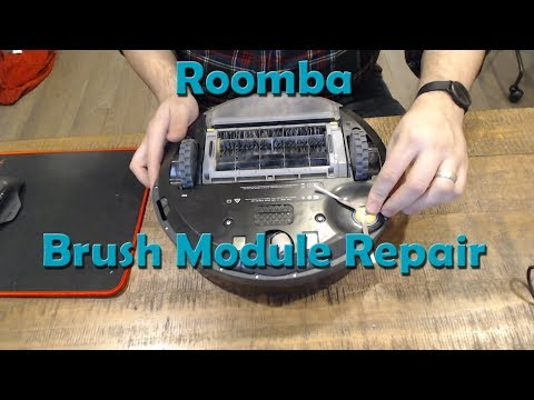 Roomba Side Brush Module Repair