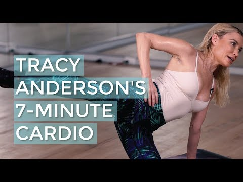 A 7-minute pre-Thanksgiving cardio workout with Tracy Anderson | Good Moves