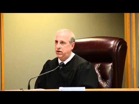 Judge Hauptman Reads Verdict - Patti J. Mock Trial