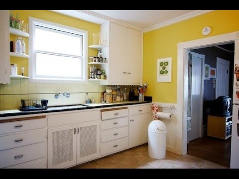 How to Paint Kitchen Cabinets | Paint Idea for Kitchen