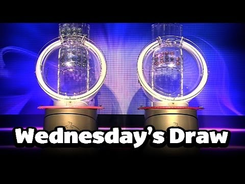 The National Lottery 'Thunderball' draw results from Wednesday 27th November 2013