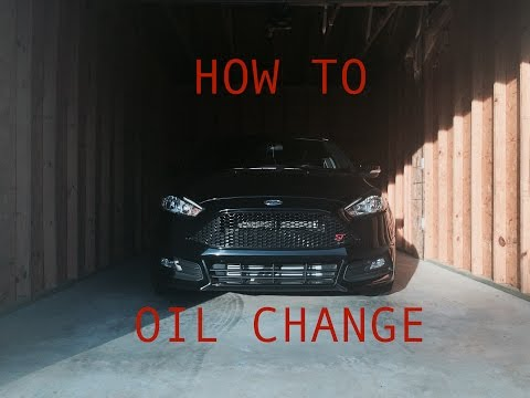 How To Change The Oil In A Ford Focus ST