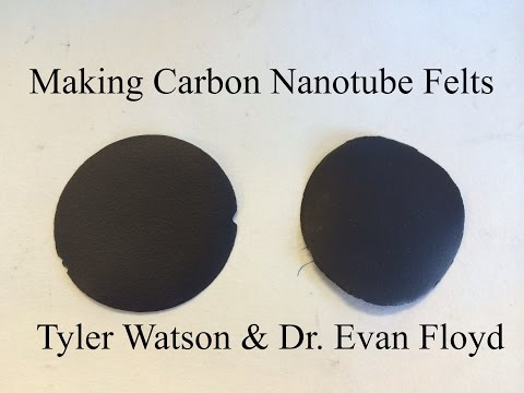 Making Carbon Nanotube Felts