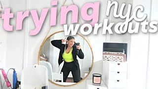 I tried a new workout in NYC everyday for a week