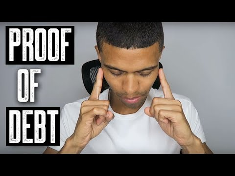 What is Proof of Debt? || Do They Need a Contract? || Credit Repair FAQs || Brandon Weaver