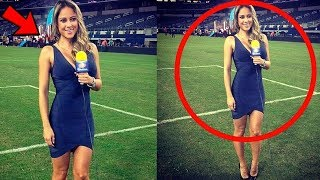 Funniest  Live TV Sports Reporter Moments  Funniest Live TV News Reporter Bloopers Compilation