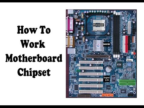 How to Working Motherboard Chips- Intel 845 chipset