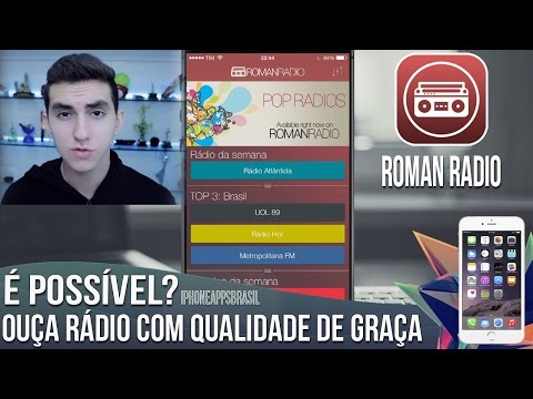 Como ouvir RÁDIOS de GRAÇA no iPhone, iPad e iPod Touch