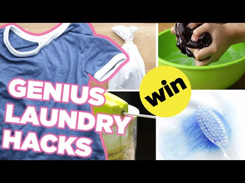 7 Genius Laundry Hacks