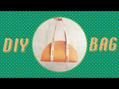 DIY Half Moon Bag ( #vertical_video )