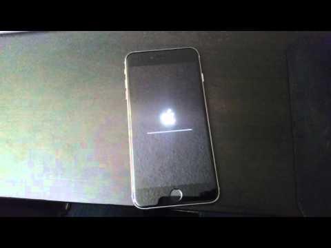 Iphone 6s plus lock screen factory reset bug