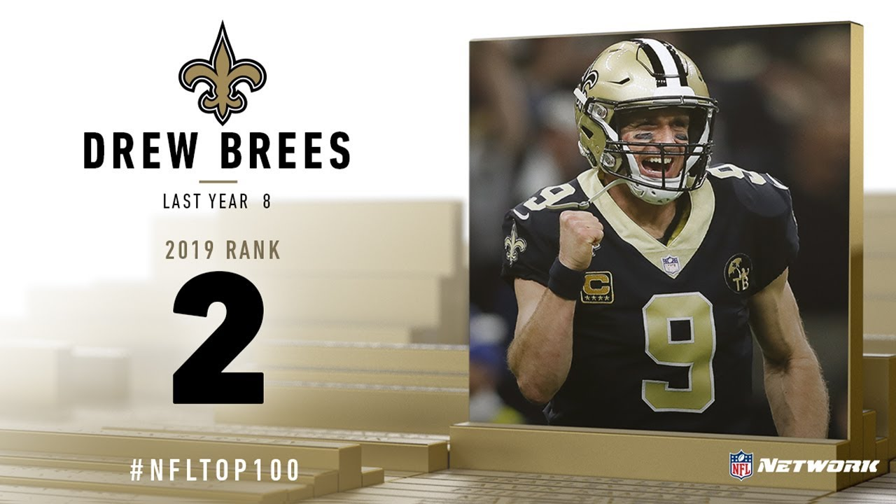 #2: Drew Brees (QB, Saints) | Top 100 Players of 2019 | NFL