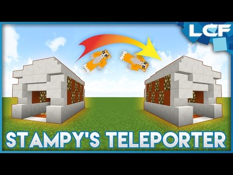 How to build Stampy's Teleporter! WORKING (for PC)