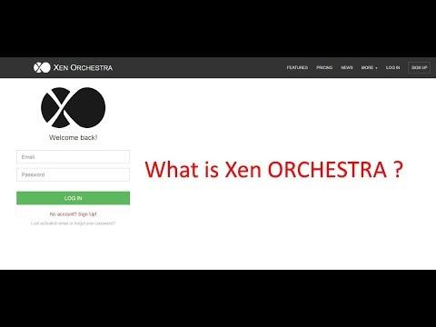 Xen Orchestra 5 installation
