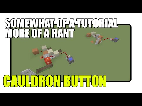 Stupid Rant And Two More Cauldron Buttons (Minecraft Xbox TU20/PlayStation CU8)