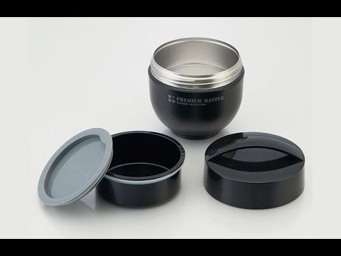 Men's Modern Thermos Donburi Style Lunch Bowl