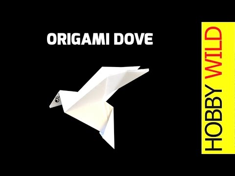 How To Make A Paper Dove Bird (Origami)