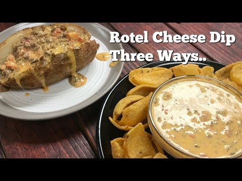 Rotel Cheese Dip Three Ways