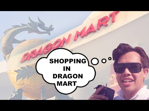 SHOPPING IN DRAGON MART 1 & 2 DUBAI - Cheap buys! Everything is here!