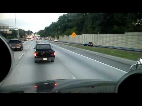 Atlanta traffic on I-285