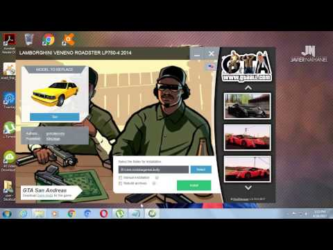 HOW TO DOWNLOAD LAMBORGHINI MOD IN GTA SANDRESS very simple