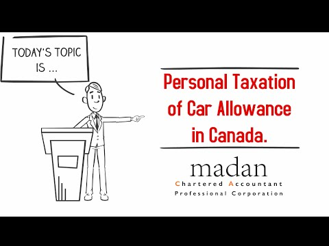 Personal Taxation of Car Allowance in Canada