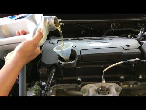 2013-2017 Honda Accord i4 Oil Change & Maintenance Light Reset DIY