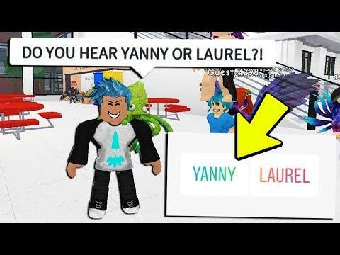 YANNY VS LAUREL IN ROBLOX! *YOU CHOOSE*