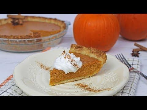 Pumpkin Pie Recipe | How To Make Pie Crust