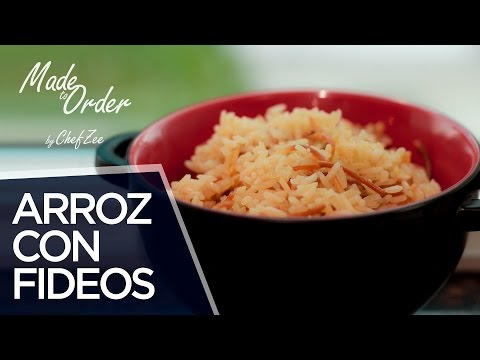 How to Make Arroz con Fideos | Made to Order | Chef Zee Cooks