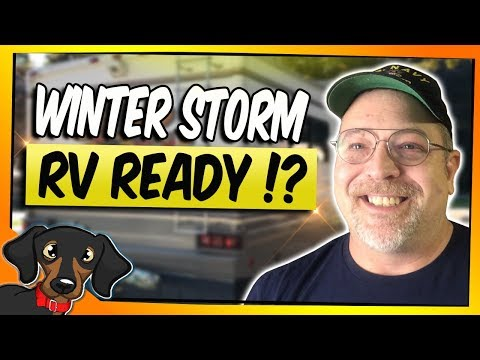 Winter Storm - winter RV essentials