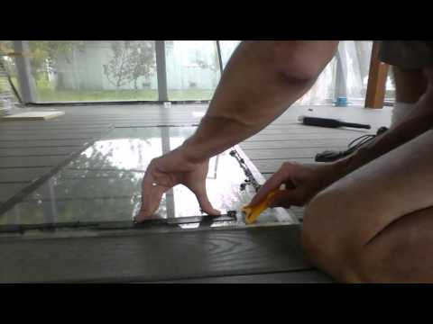 how to remove 3m dbl sided foam tape