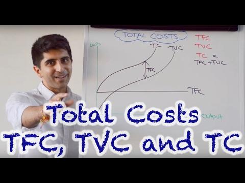 Y2/IB 4) Total Cost Curves - TC, TVC, TFC