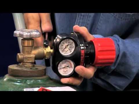 Victor Regulator Attachment Safety