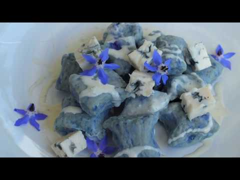 BLUE Winter Recipe: Blue Gnocchi with Blue Cheese Sauce