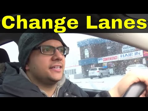 How To Change Lanes-Tips To Pass Your Driving Test
