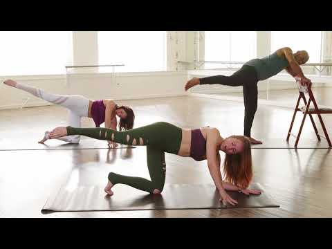 Booty Barre Workout with Adrienne Kimberley