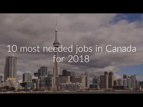 Most Needed Jobs In Canada In 2018