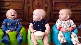 FUNNIEST TRIPLET BABIES can make us LAUGH super HARD! - Cute Triplet Babies Compilation