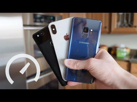 Ultimate Speed Test: Galaxy S9 vs iPhone X vs Pixel 2!