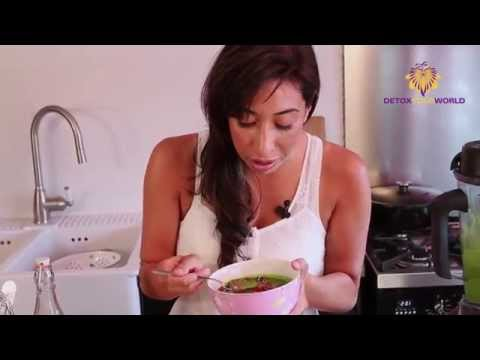 Wheatgrass Powder Recipe - Wheatgrass Protein Breakfast Bowl
